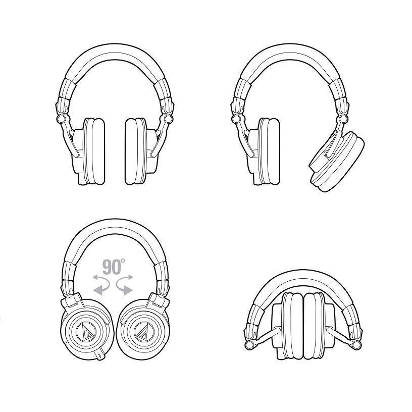 profesionalne-slusalke-Audio-Technica-ATH-M50x