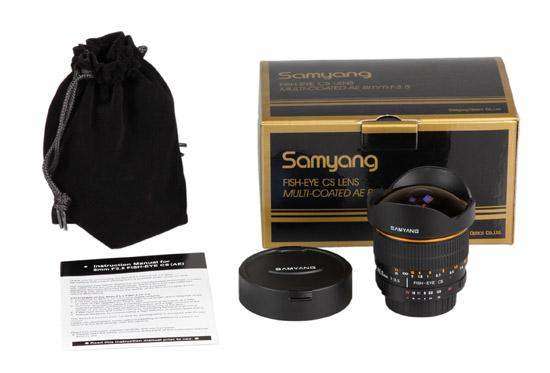 Samyang 8mm AE