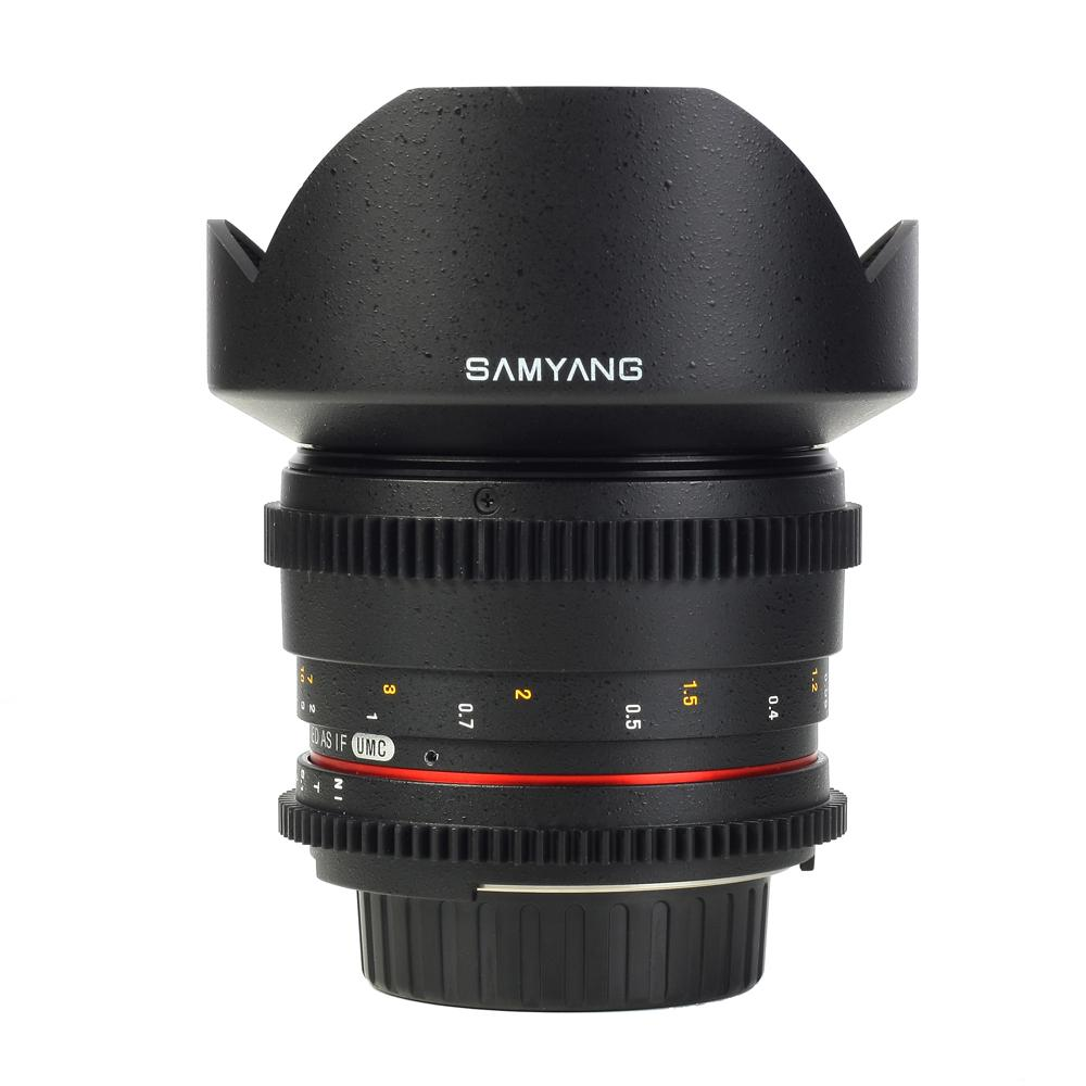 samyang vdslr 14mm video lens