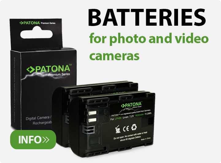 Baterije za fotoaparate in kamere