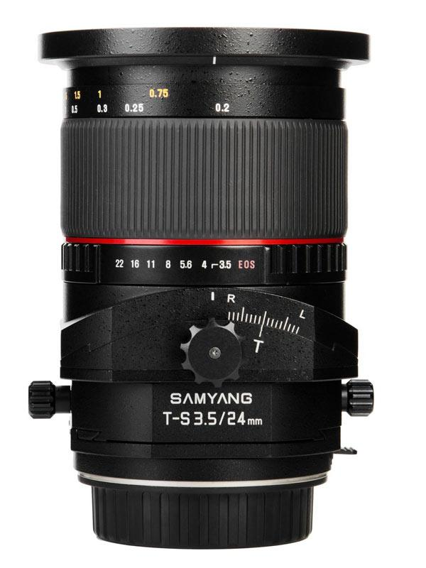 Samyang 24mm Tilt-shift