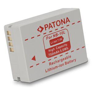 Baterija Canon NB-10L (za Powershot, G1X, SX40...) - Patona