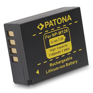 Battery Fujifilm NP-W126 (for Fujifilm X-E2,X-E1,X-M1...)-Patona