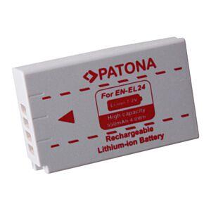 Battery Nikon EN-EL24 (za Nikon 1 J5) - Patona