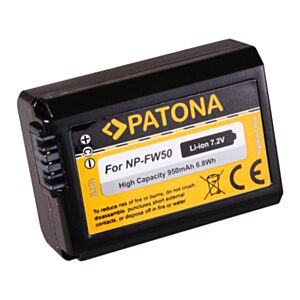 Battery Sony NP-FW50 (for Sony NEX-5, NEX-3...) - Patona