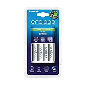 Panasonic Eneloop Advanced charger + 4x AA batteries - 1900mAh