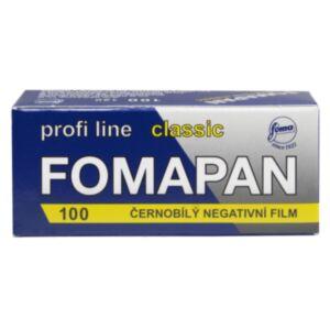 Fomapan 100 Classic - 120 črno-beli film