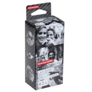Lomography Lady Grey B&W 400 35mm - 3 Pack - FILM