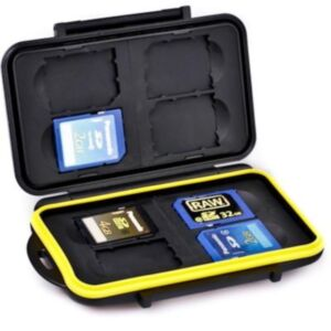 Waterproof memory card case JJC MC-SDB - 8SD