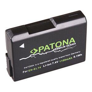 rezervna baterija nikon en-el14