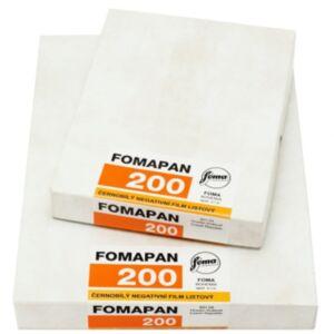 FOMA Fomapan 200 4x5 inch / 50x listov