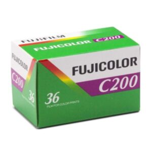 Fujifilm Fujicolor C200 ISO 200 - 135mm film - 36