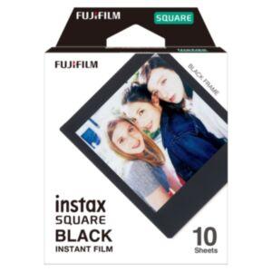 Fujifilm Instax SQUARE FILM (črn okvir) - 10 listov