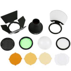 Godox AK-R1 kit za Round Flash Head (za Godox V1, Quadralite 200 TTL,...)