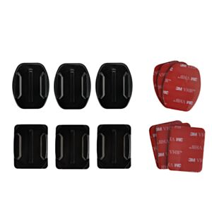 JJC GoPro Curved + Flat Adhesive Mounts