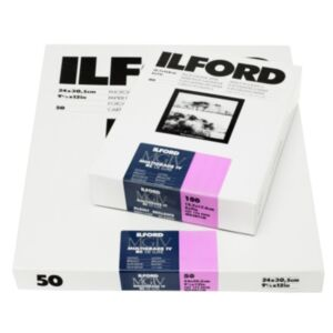ILFORD Multigrade IV 1M - High Gloss (RC) - 30x40 - Gradation: Variable 50x FOTO PAPIR