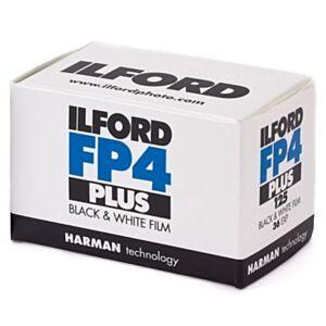 Ilford FP4 PLUS ISO 125 - 35mm črno-beli film - 36
