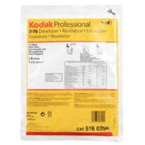 KODAK D76 To Make 3,78 Liters