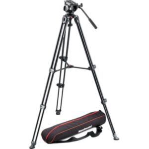Manfrotto MVH500A fluidna video glava + MVT502AM stativ s torbo