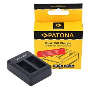 Dvojn- USB-USB-C-Polnilec-GoPro-HERO9-Black-kamere