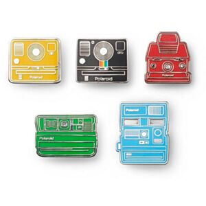 Polaroid Originals camera pin badge