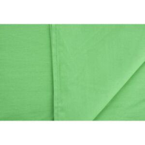Studijsko ozadje 2,85x6m - 100% bombaž - (Chroma key) Zeleno