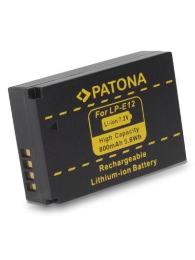 Baterija Canon LP-E12 (za Canon EOS 100D, Canon EOS M) - Patona