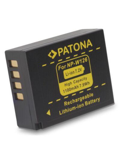 Baterija Fujifilm NP-W126 (za Fujifilm X-E2 X-E1 X-M1...)-Patona