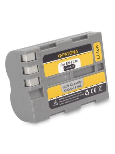 Baterija Nikon En-EL3e (za Nikon D700, D300, D90,...) - Patona