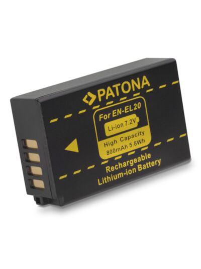 Baterija Nikon EN-EL20 (za Nikon 1,...) - Patona