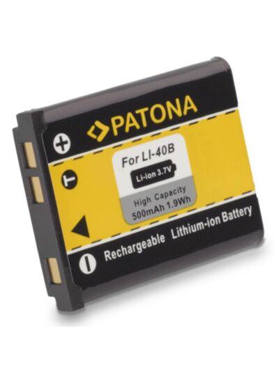 Battery Olympus LI-40B/LI-42B, Nikon EN-EL10 - Patona