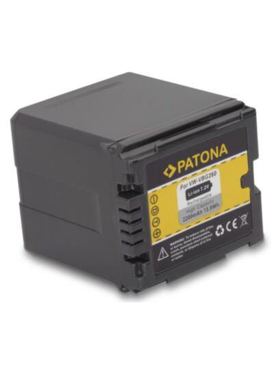 Battery Panasonic VW-VBG260 - Patona