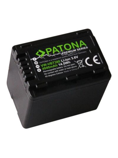 Battery Panasonic VW-VBT380 PREMIUM - Patona