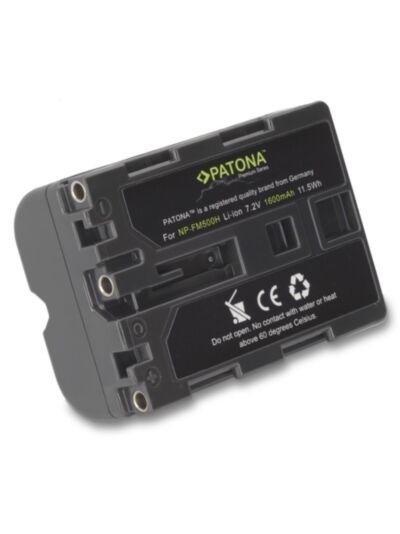 Baterija Sony NP-FM500H PREMIUM -  Patona