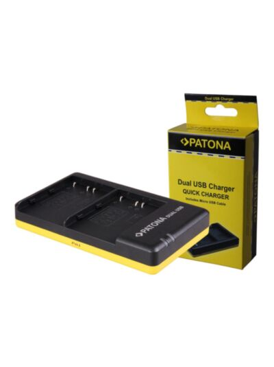 EN-EL3e Nikon - hitri dvojni USB polnilec - Patona