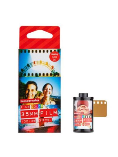 Lomography Color Negative 100 ISO 35mm - 3 pack - FILM