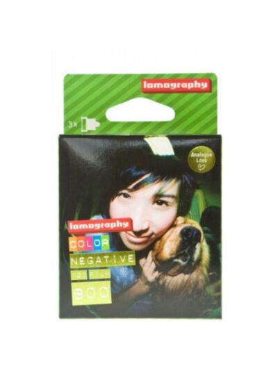 Lomography Color Negative 800 ISO 120mm - 120 barvni film 3 pack
