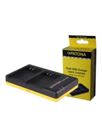 PS-BLN1 Olympus - hitri dvojni USB polnilec - Patona