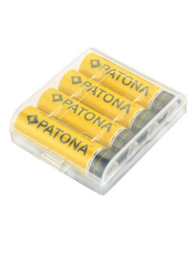 Polnilne AAA baterije Patona 900mAh - NI-MH  - 4 kosi + škatlica
