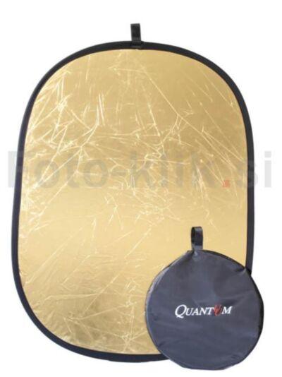 Zlato - srebrn odbojnik (180x120cm) Quadralite