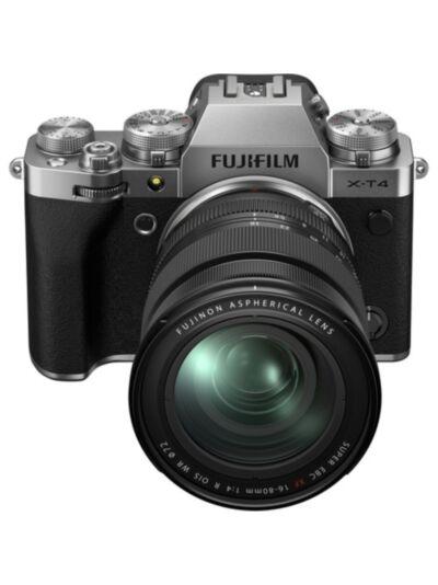 Fujifilm X-T4 + 16-80 f4 OIS WR KIT (srebrn)