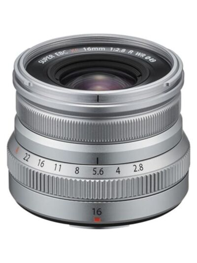 Fujifilm XF 16mm f2.8 R WR (srebrn) slovenija zaloga cena