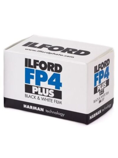 Ilford FP4 PLUS ISO 125 - 35mm black&white film - 36