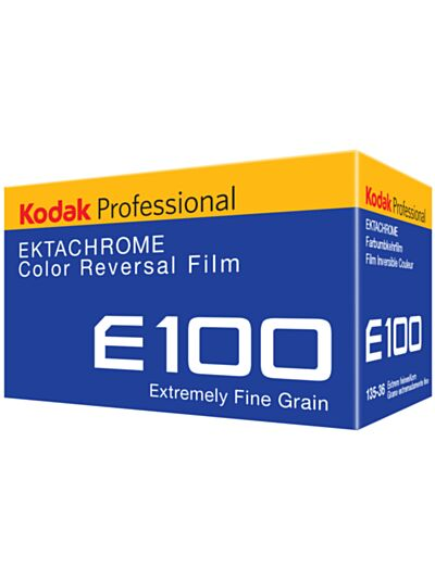 Kodak Ektachrome ISO 100 - 35mm film - 36