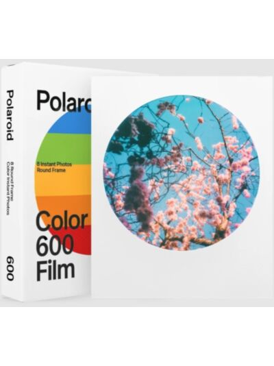Polaroid barvni film 600 Round Frame Edition