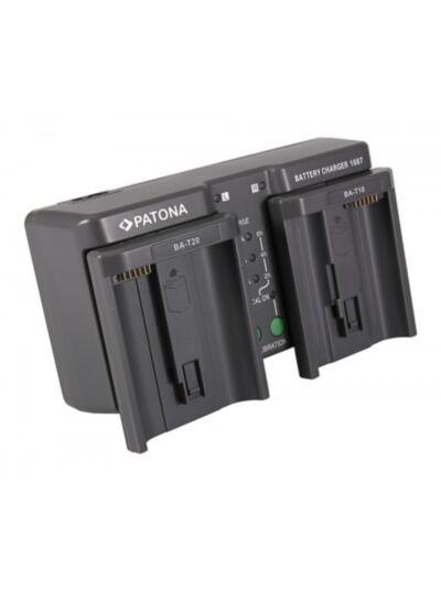 Polnilec baterije DUAL za Nikon EN-EL18 EN-EL4 in Canon LP-E4  - Patona