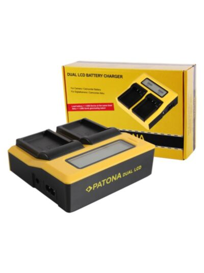 Polnilec baterije Synchron DUAL za Canon LP-E17 - Patona