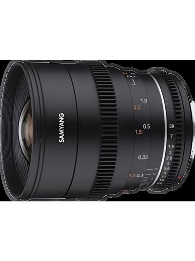 Samyang 24mm T1.5 VDSLR MK2 Cine - Sony E