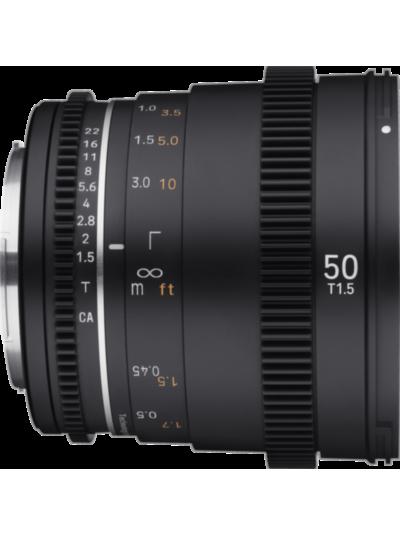 Samyang 50mm T1.5 VDSLR MK2 Cine - Canon EF