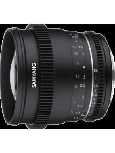 Samyang 85mm T1.5 VDSLR MK2 Cine - Canon EF